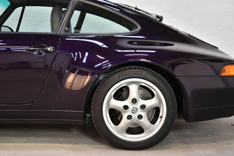Porsche 993 Carrera Deutsche Auslieferung Sonderlack Viola Metallic