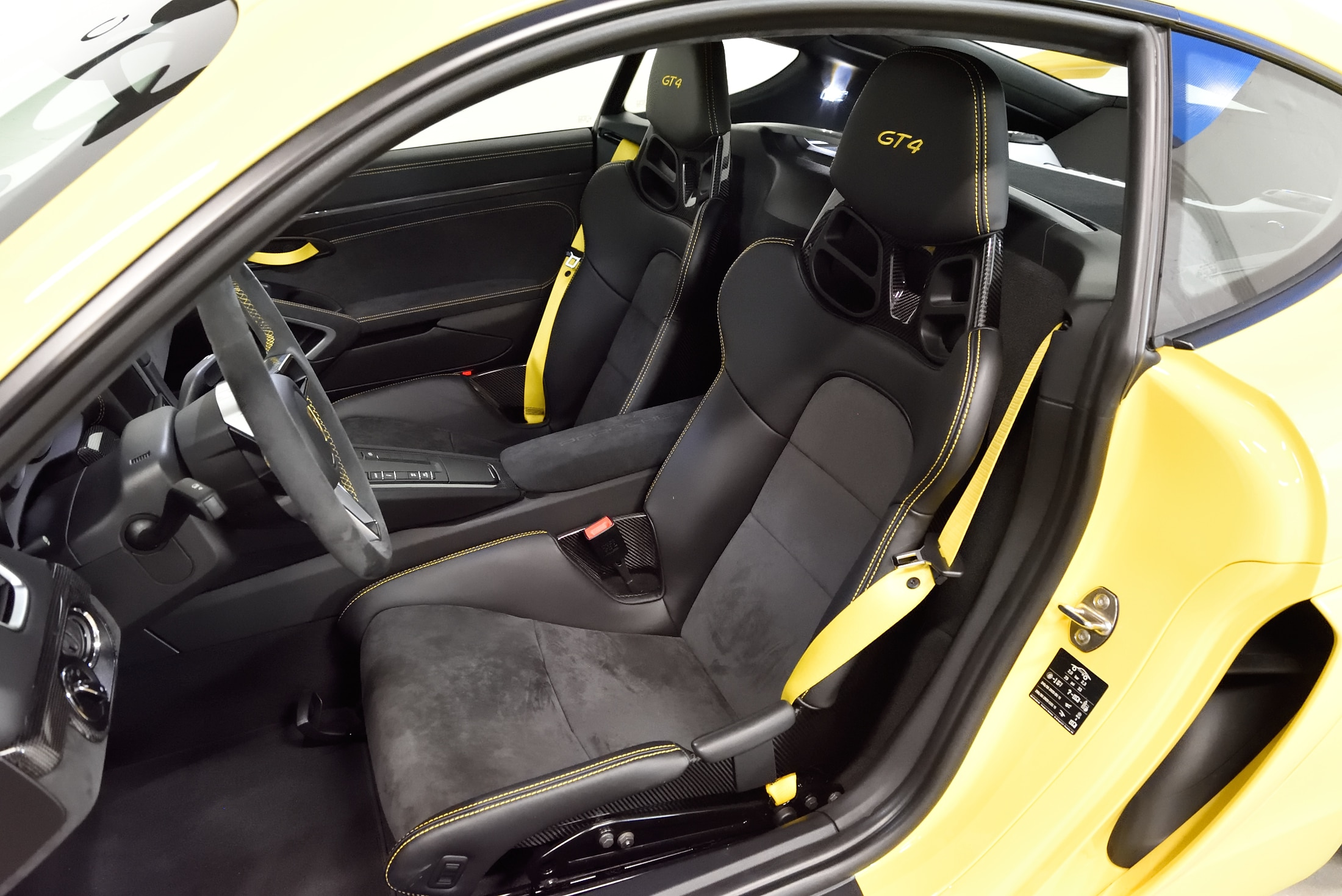 918 Spyder Sitze