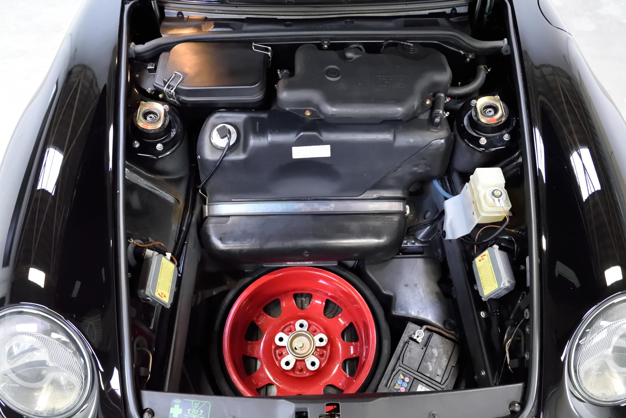 Porsche 993 Cabrio Deutsch