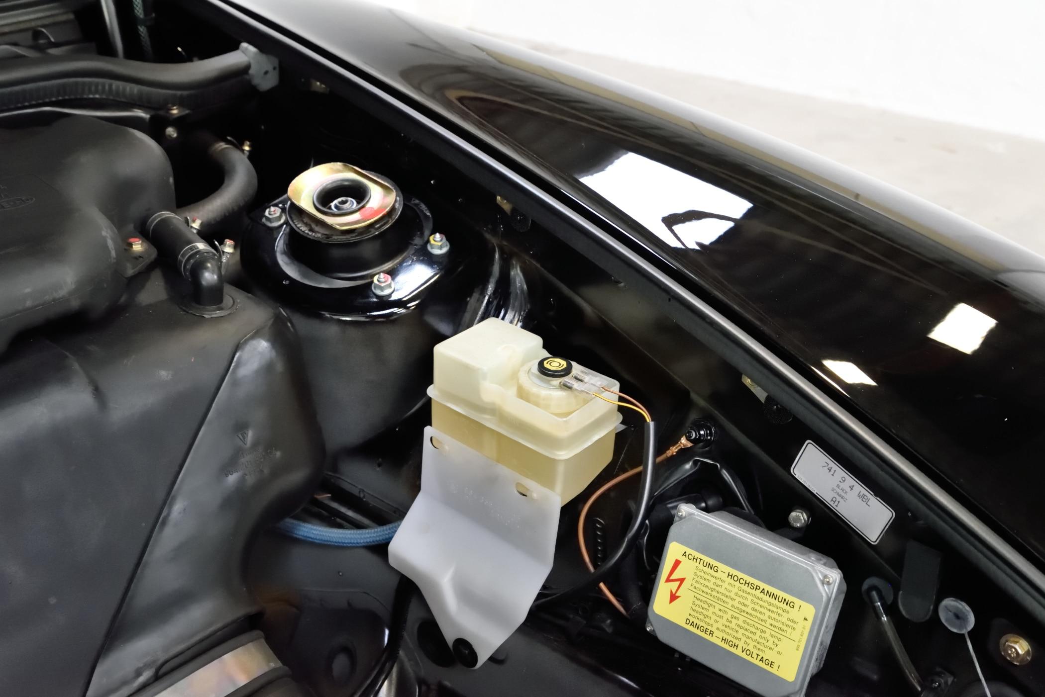 Porsche 993 Cabrio unfallfrei