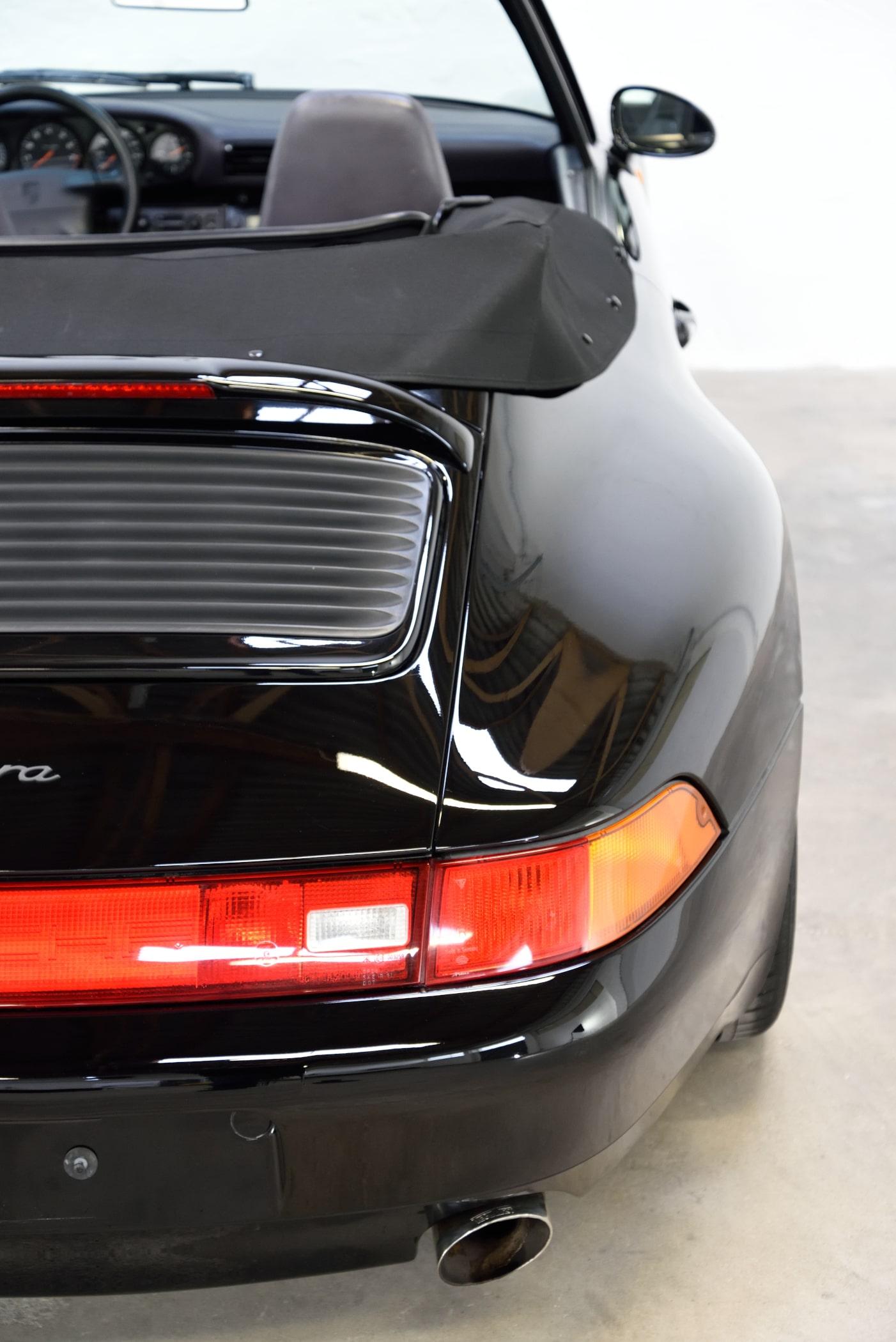 Porsche 993 Spaltmaße