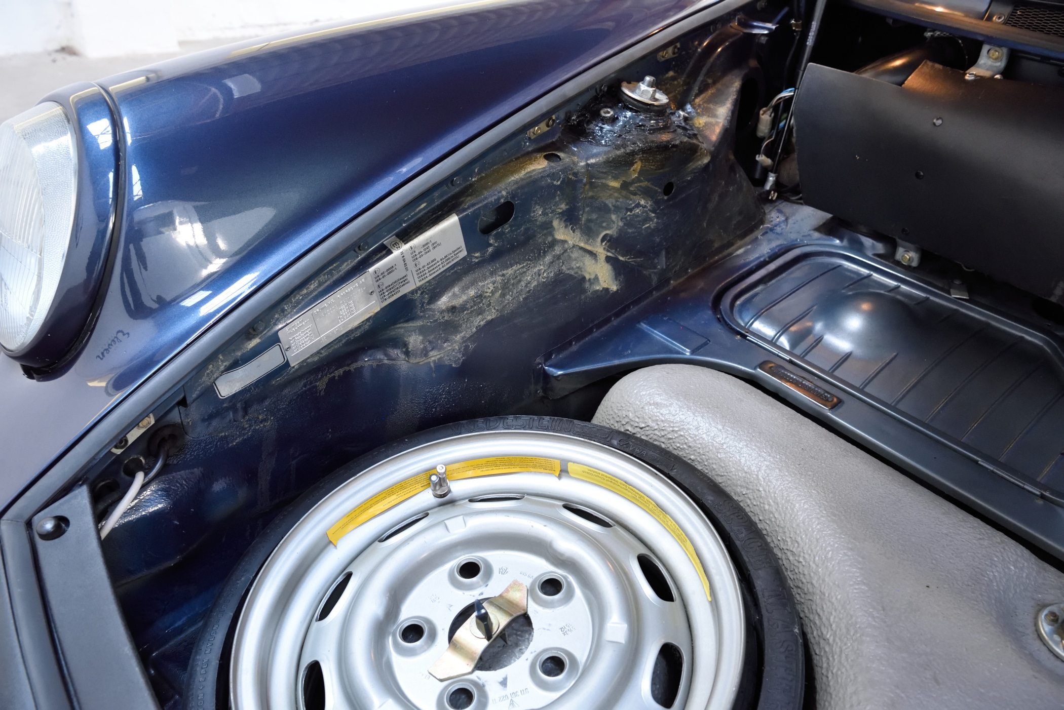 Porsche 911 Notrad