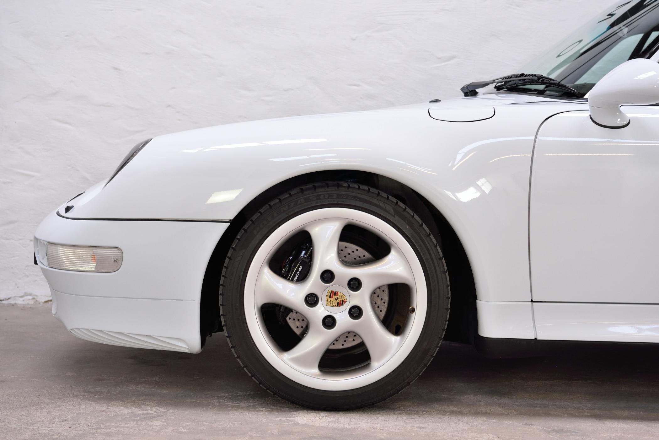 Porsche 993 Hohlspeiche