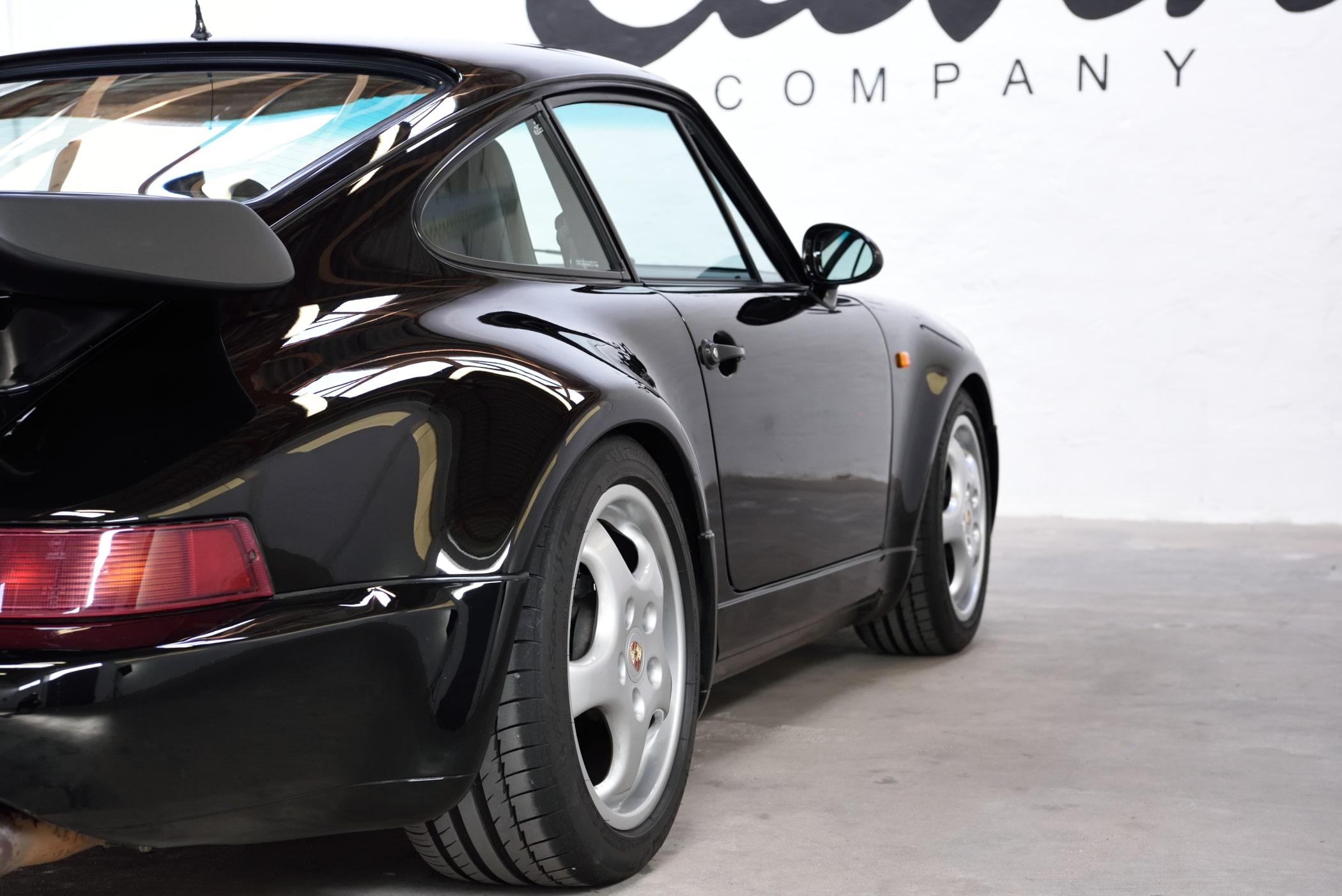 Porsche 964 Turbo stance