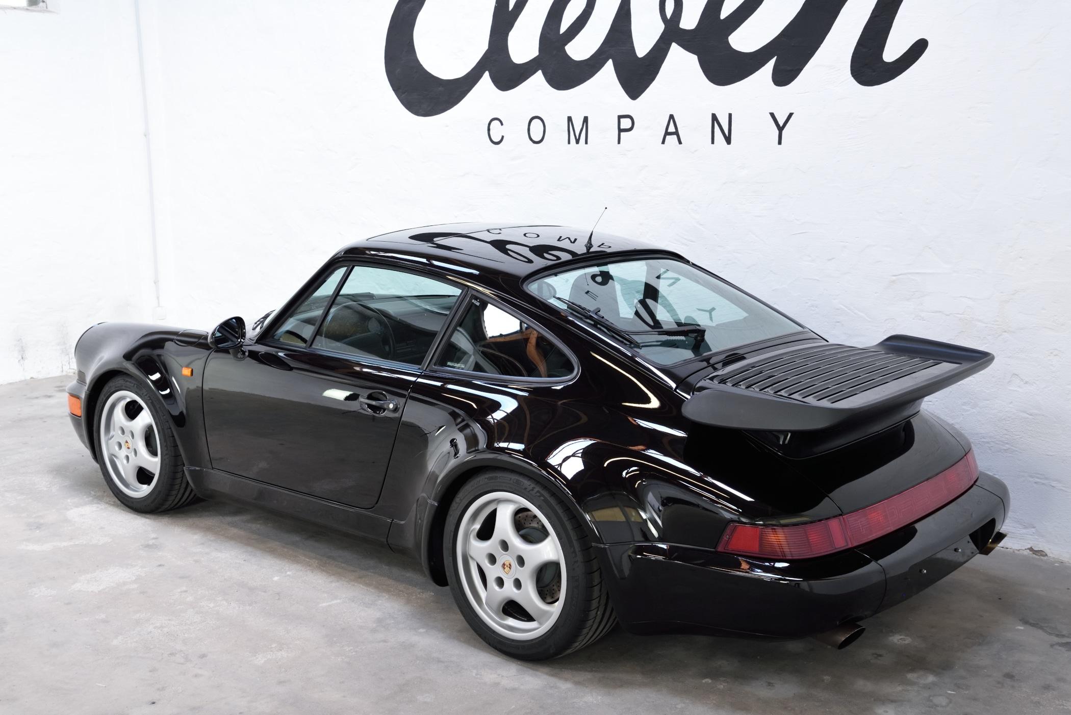 Porsche 964 schwarzmetallic