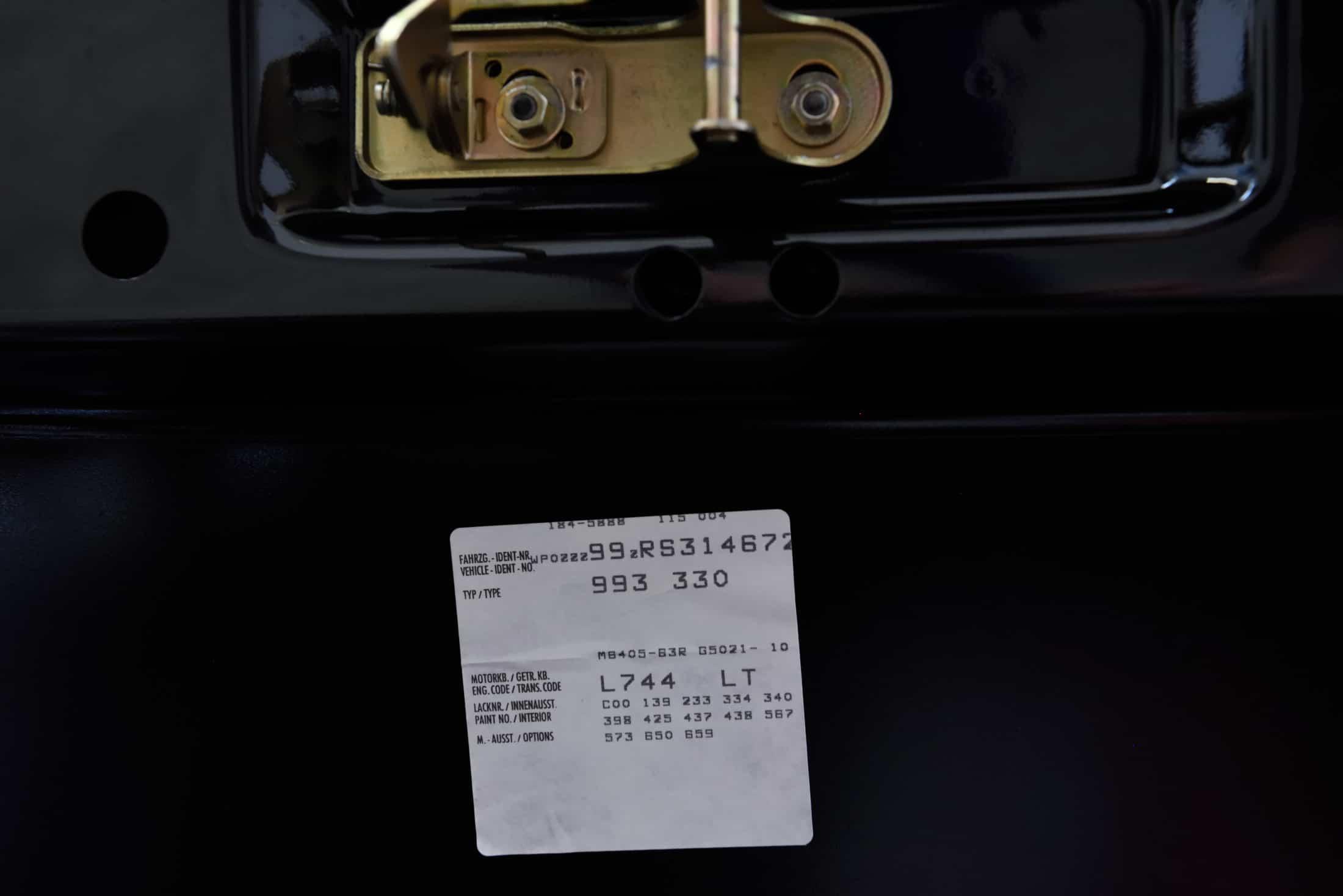 Porsche Fahrzeugdatenträger