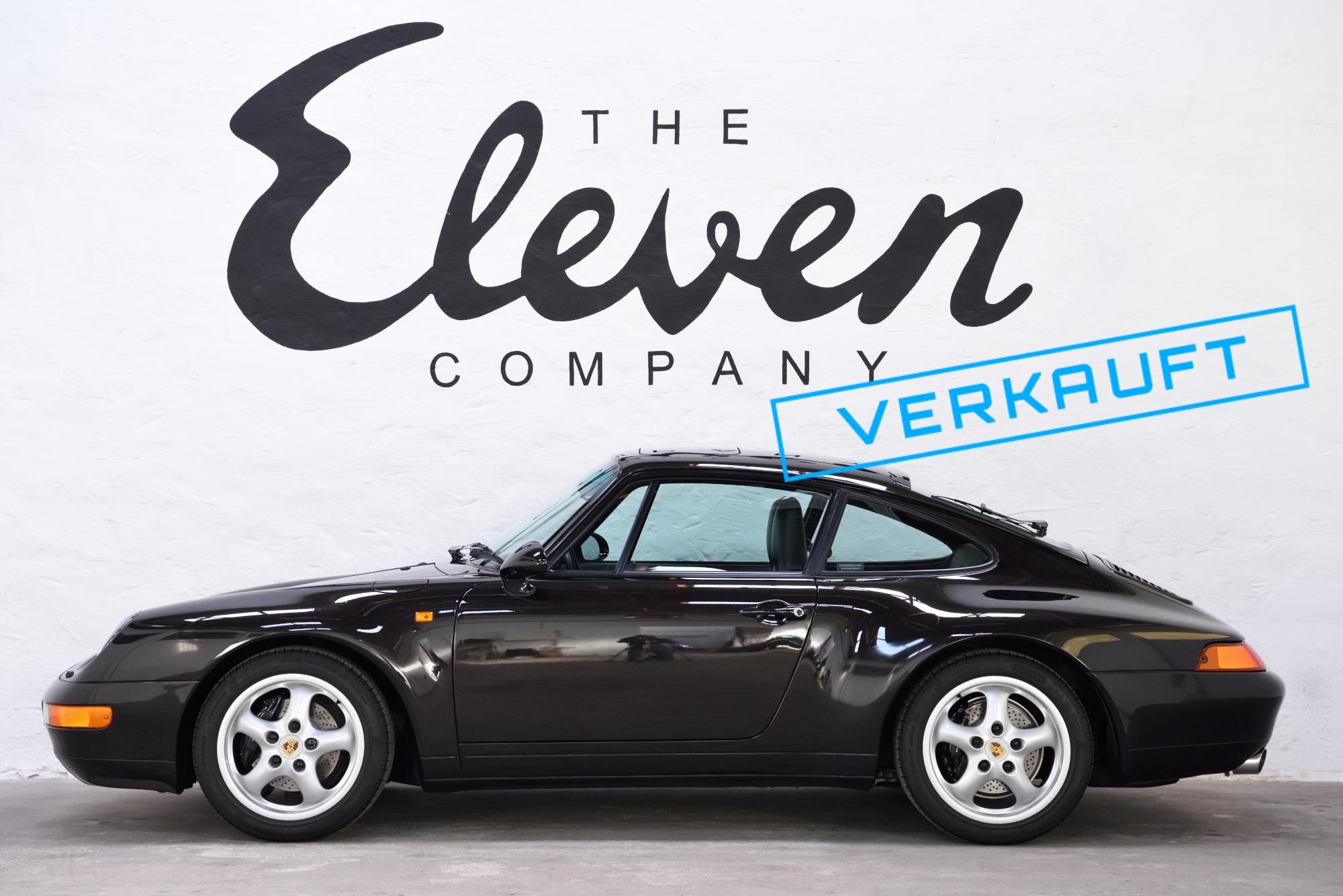 Porsche 993 schwarz metallic