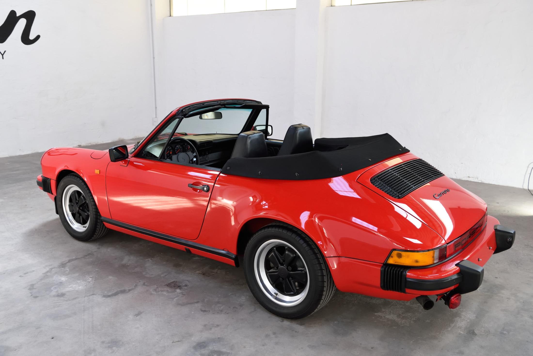 Porsche Carrera 3,2 ohne Kat