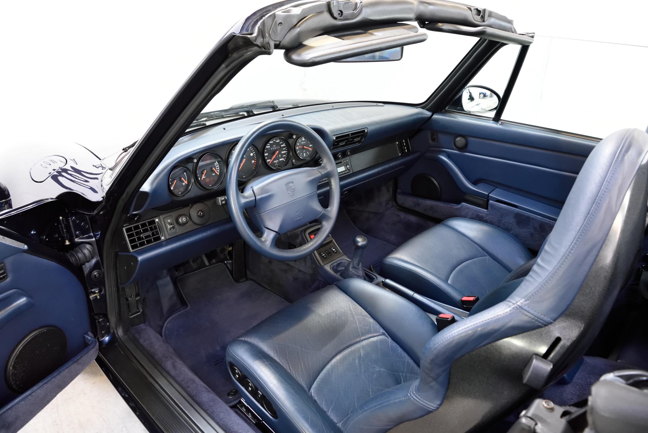 Porsche 993 Cabriolet unfallfrei