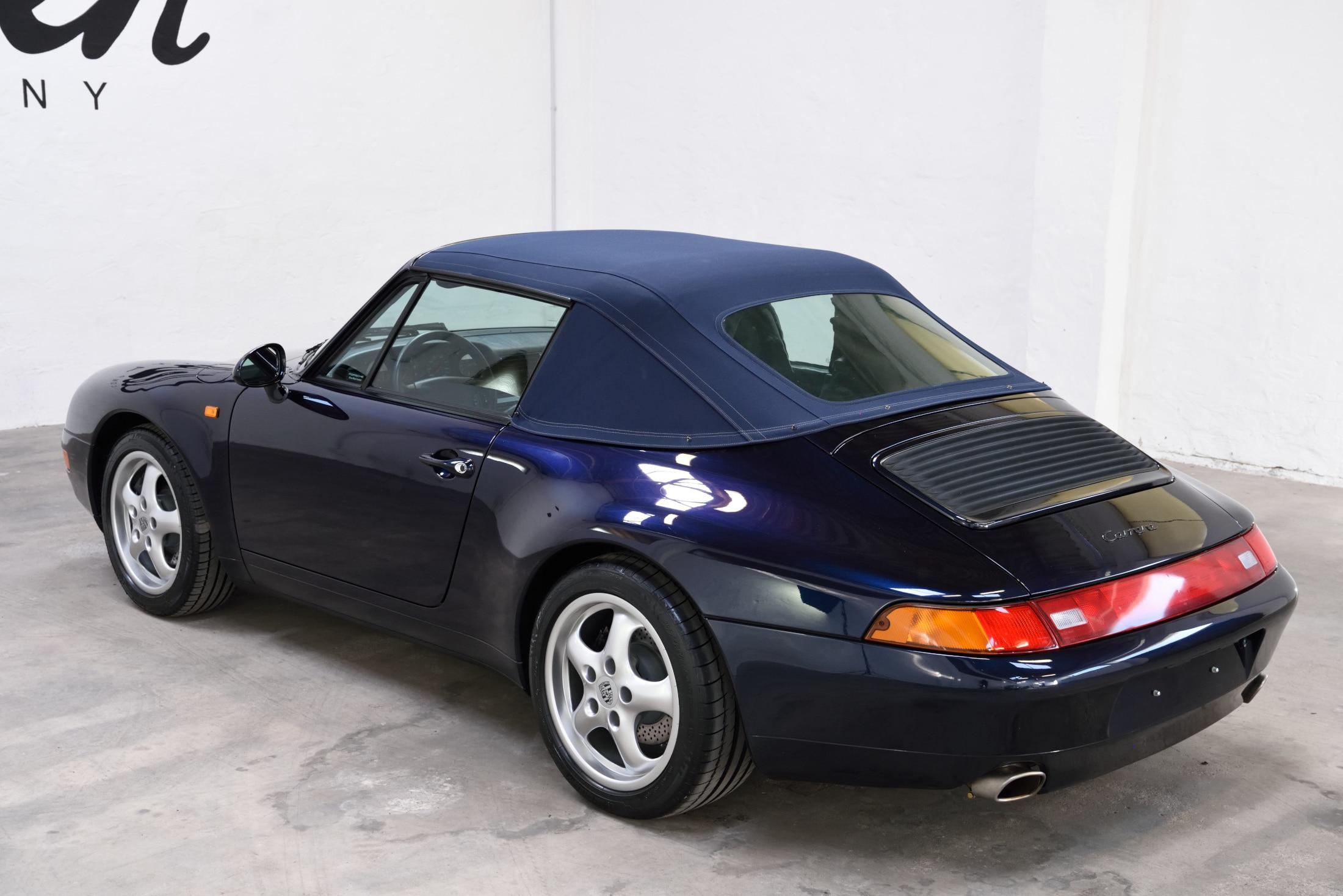 Porsche 993 Verdeck