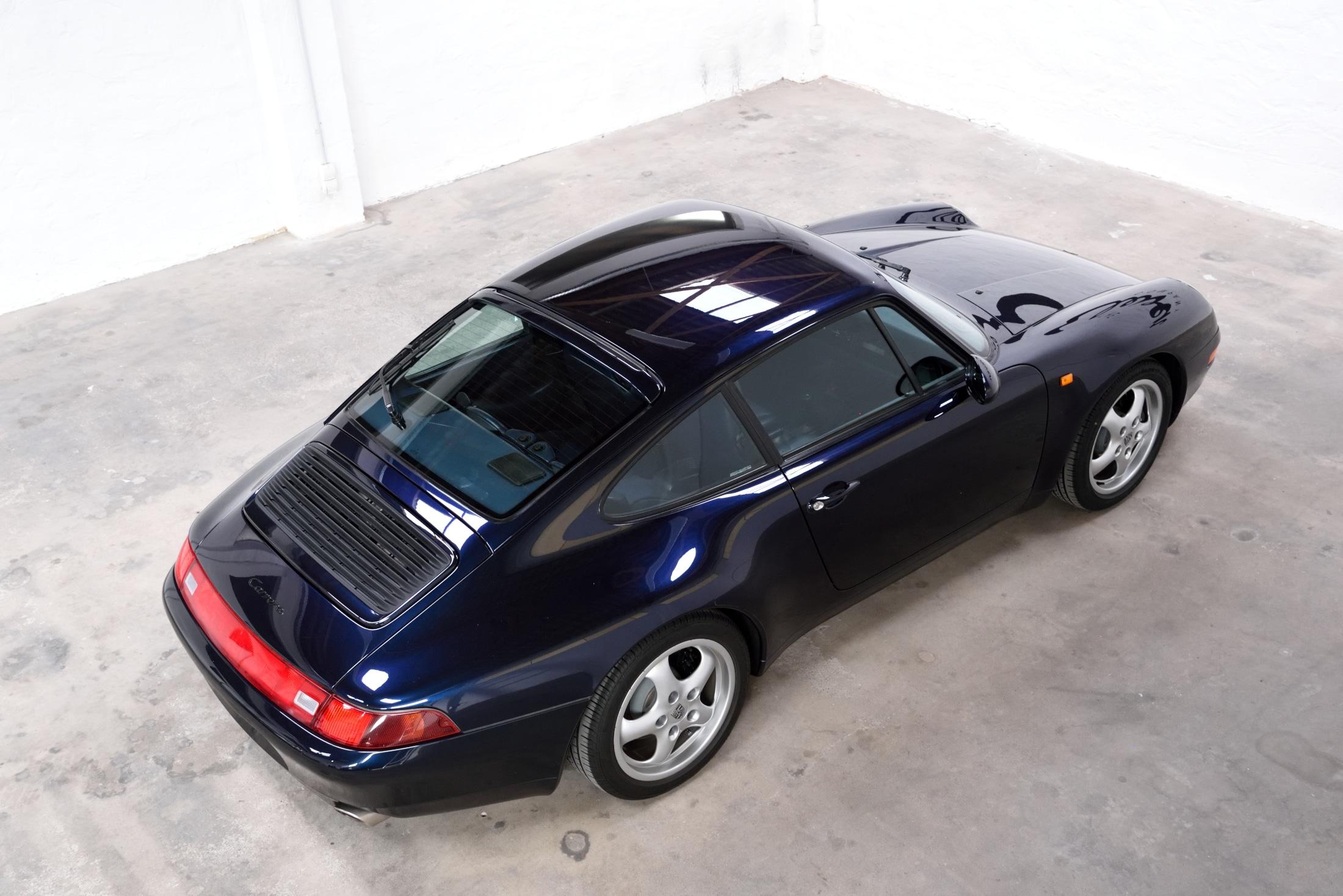 Porsche 993 nachtblau metallic