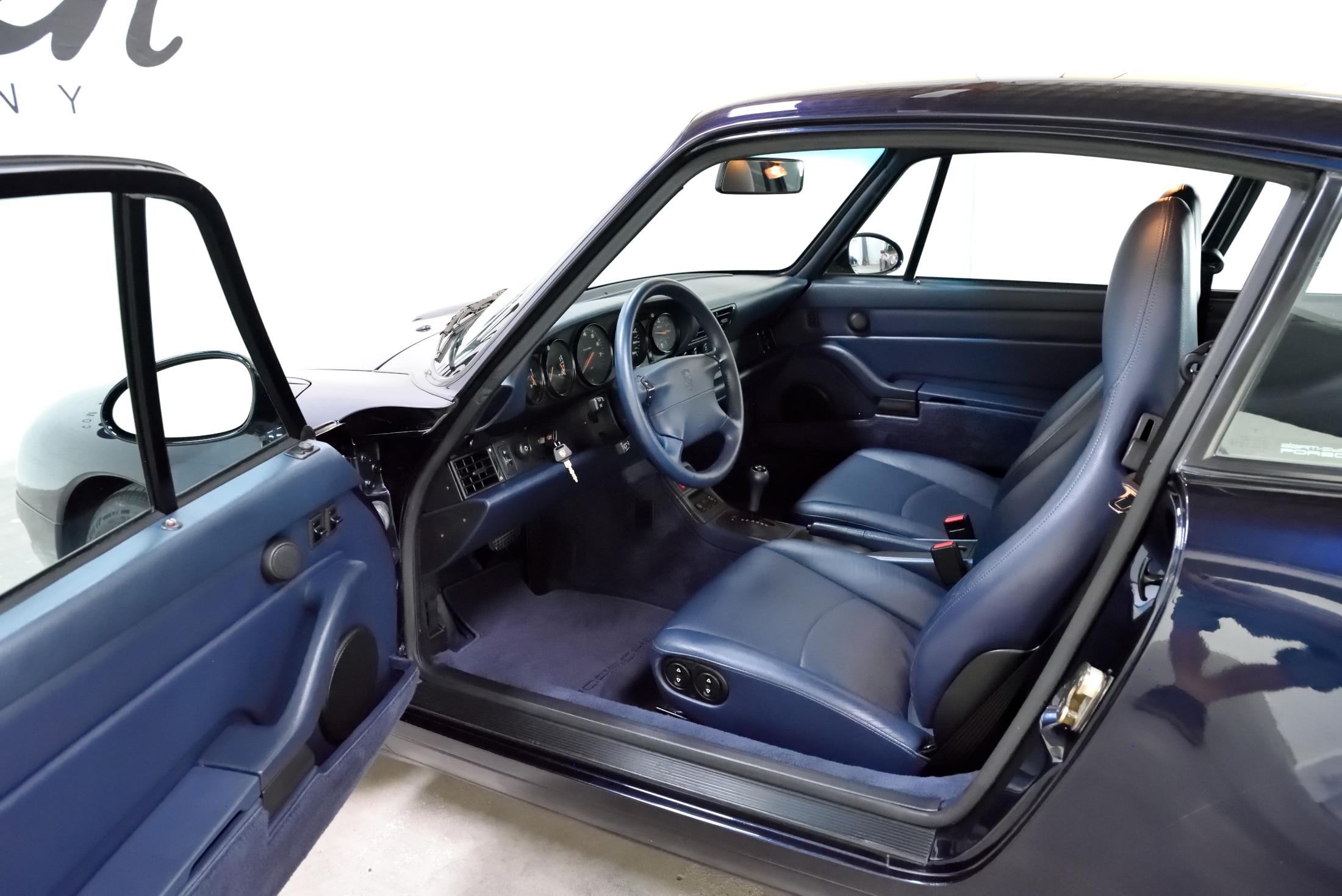 Porsche 993 nachtblau