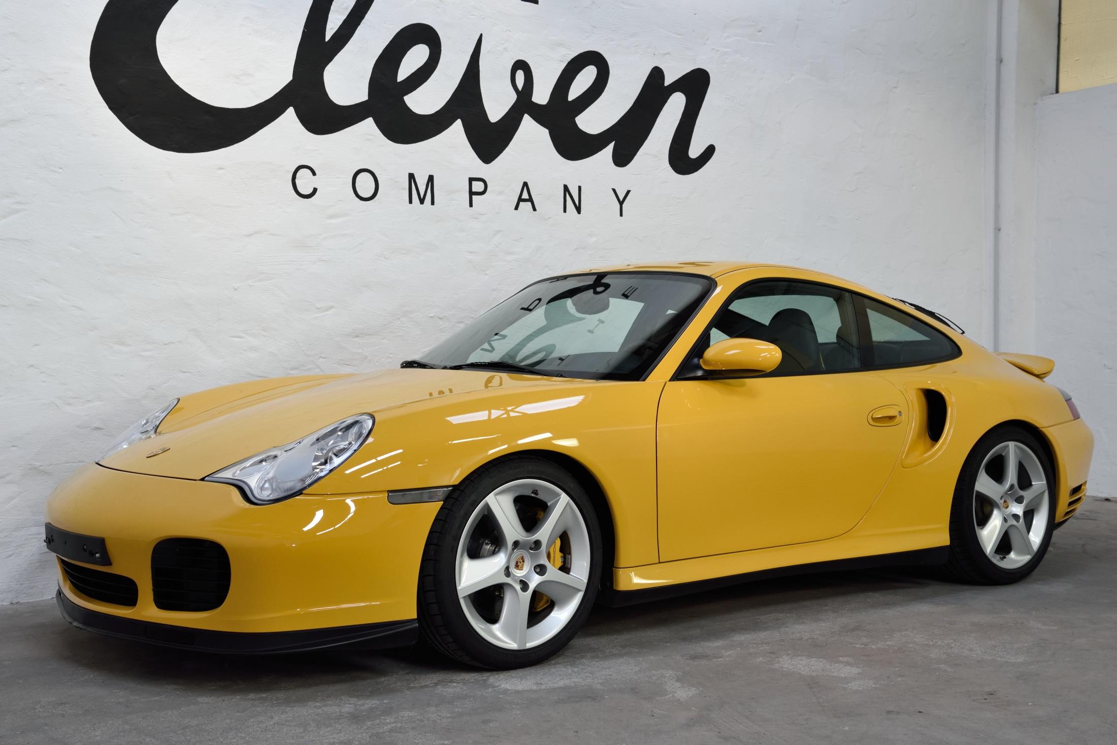 Porsche 996 Turbo speedyellow X50
