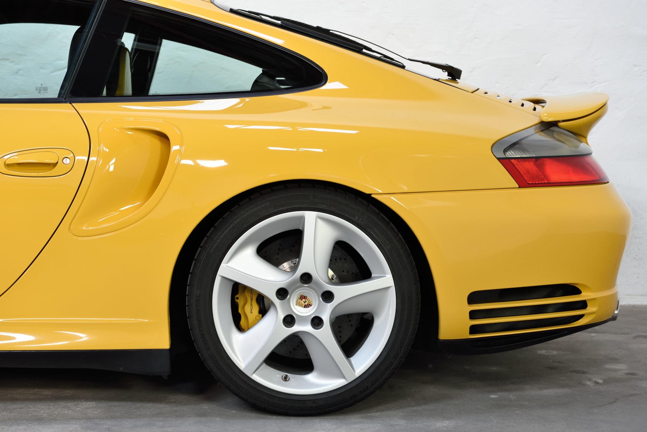 Porsche 996 Turbo Werksleistungssteigerung