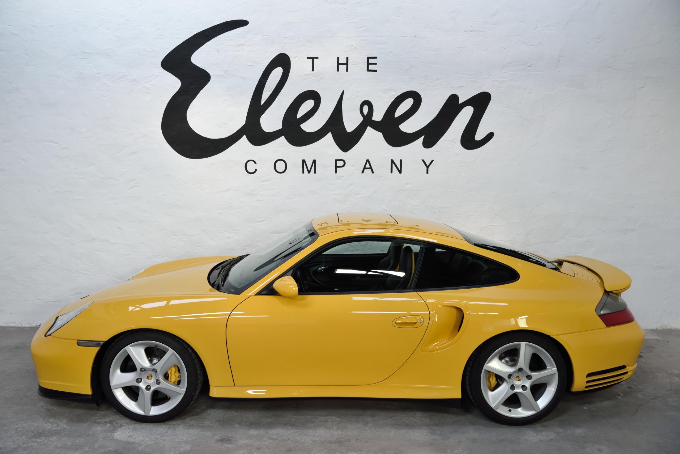 Porsche 996 Turbo speedyellow