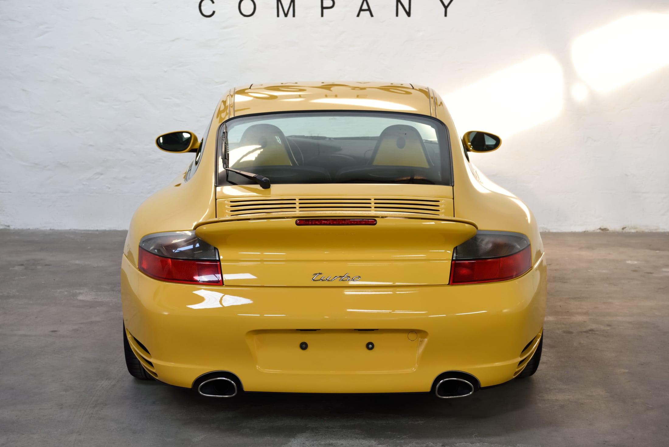 Porsche 996 Turbo 450 PS ab Werk